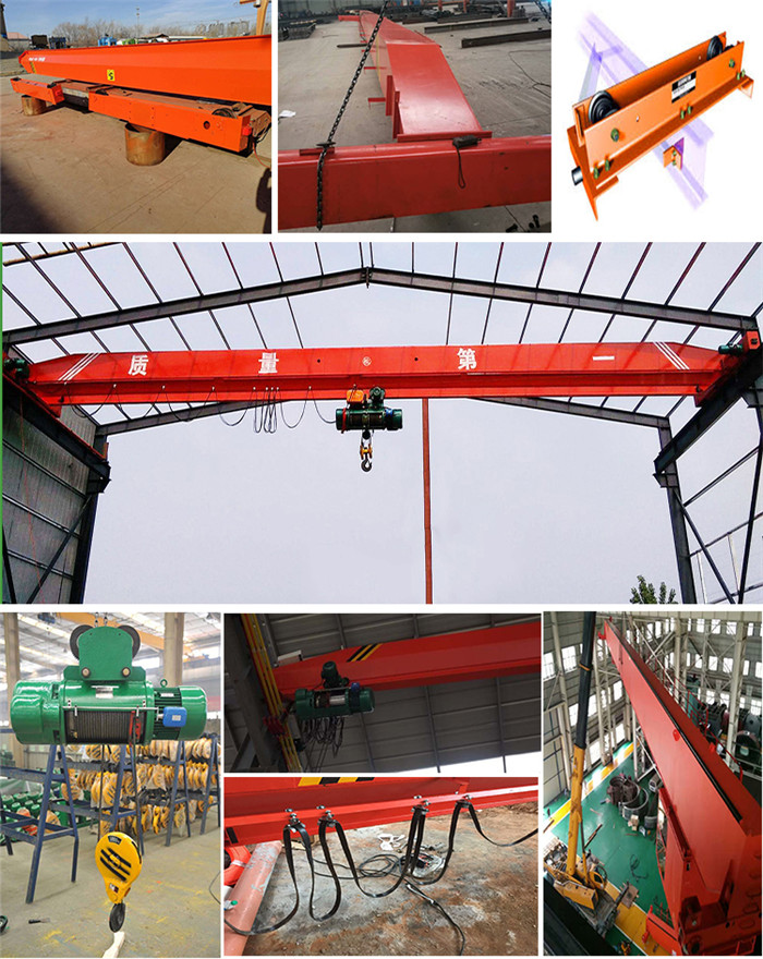 LDA type single girder overhead crane