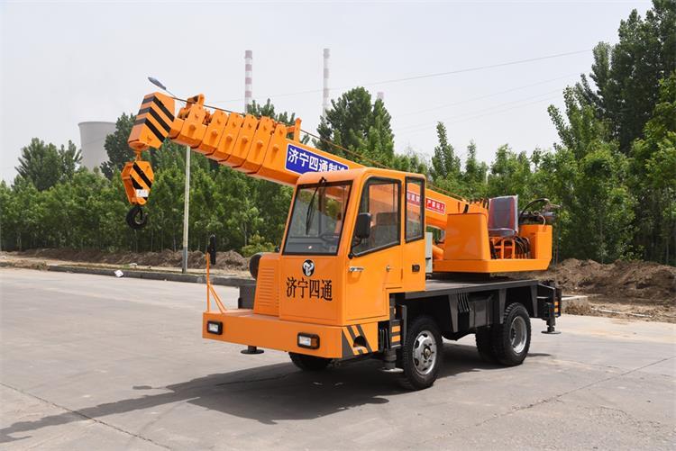 5 ton truck crane