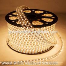 AC 220V/110V SMD 5050 LED strip light 60leds/m 100m/roll
