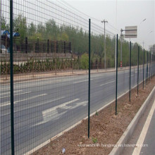 Road Easy install PVC/PE dipped coating Euro fence