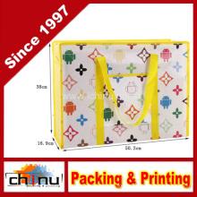 Promoção embalagem de compras não tecidos saco (920056)