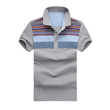 Custom Dry Fit Blank Cotton Business Man Polo Shirts