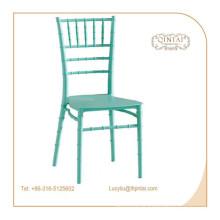 Chaises de restauration en bambou en plastique de chaise empilable moderne de Chivari
