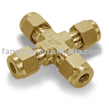 union cross ,brass fitting ,brass compression fitting