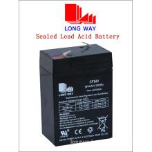 Emergency Lighting Sealed Rechargeable Lead Acid Battery (6V4AH/20HR)