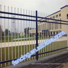 Los paneles de acero derechos de la cerca de la barra libre de la venta caliente para los jardines