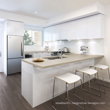 hot sale white gloss kitchen cabinet usa