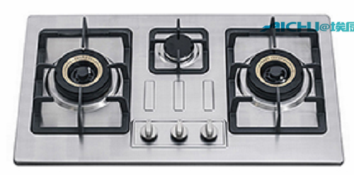 3 Burners Stainless Steel Top Gas Stove