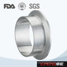Processamento de alimentos em aço inoxidável Fio de conector de tubulação forjando (JN-FL1001)
