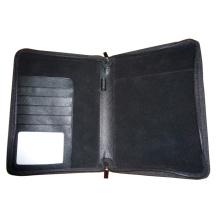 Agenda de cuir véritable / PU, Folde, Portfolio (EA-410)
