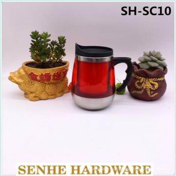 450ml Edelstahl-Vakuum-Kaffeetasse (SH-SC10)