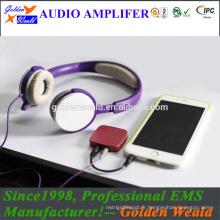 amplificateur de puissance numérique amplificateur de casque amplificateur de batterie rechargeable