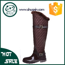 leather long fishing rubber boots italian shoe brands B-888