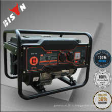 BISON CHINA 4HP 168F 1.5KW 50 / 60HZ Однофазный электрический переносной электрический генератор