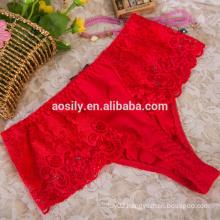 2017 vogue lace t-back bikini swimwear sex wholesale women underwear for female 7581