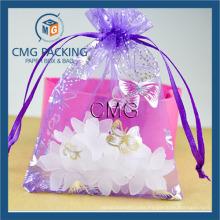 Christmas Festival Gift Bag Organza Bags
