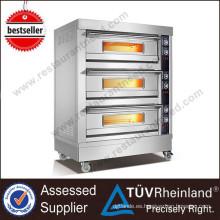 Restaurante Equipo de panadería 6 bandejas Electric Bakery Oven