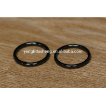 Shiny black cheap o-rings and metal o-ring,luggage bag parts and accessories