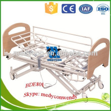 Extra low medical bed with five functions