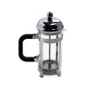 French Press Kaffee- und Teekocher 12Oz Chrom