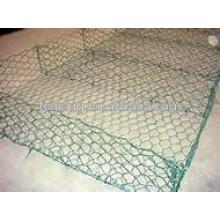 malla de alambre hexagonal conejo jaula de pollo cerca / malla de alambre hexagonal 10mm