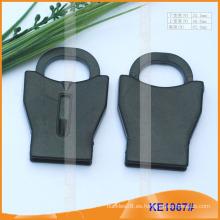 Forme el extremo plástico de la cuerda para las prendas KE1067 #