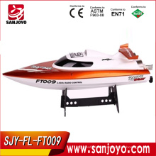 rc boat catamaran High speed racing boat FT009 hobby model 4CH yacht 30km/h 2.4g rc speed boats (water cooling system)