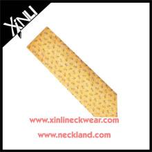 Azo Free Wholesale Custom Wholesale Silk Printed Ties