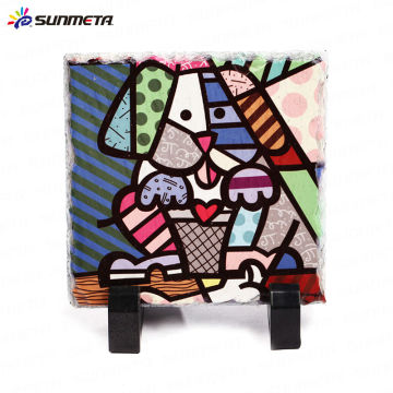 Sublimation Rock Photo Coaster /Digital Photo/ Occasions/Gift