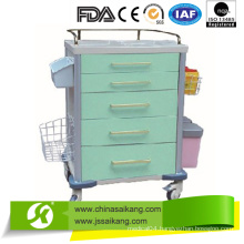 ABS Anesthesia Trolley with Debris Basket