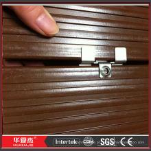 Composto decking madeira composto plástico decking composto decking extremidades tampas