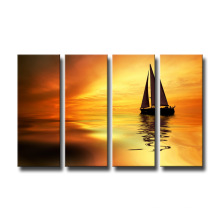 Modern Art Boat Canvas Prints Home Decoration