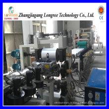 Ligne de production de feuille de bord de PVC de PVC, ligne d'extrusion de feuille de PVC de 0.5mm, de 0.8mm pour le bord de PVC
