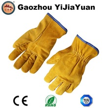 Leather Safety Drivers Work Gloves
