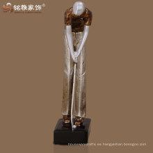 resumen de alta densidad calificados deportes trofeo golf hombre escultura