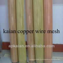 Red de alambre de blindaje de cobre