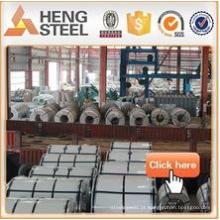 Tianjin frente aço GI bobinas folha