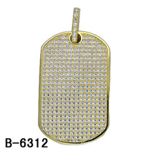 High Quality Pure 925 Sterling Silver Pendant Jewelry with Diamond