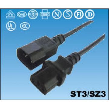Cables de alimentación UL América del norte