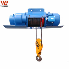 Bridge building remote controller pulling reliable wire rope electric hoist