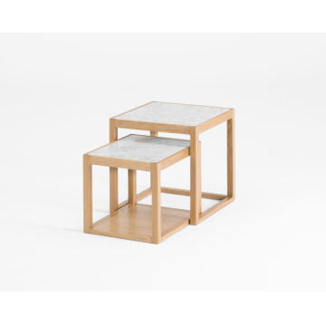 """Inkstone"" Marmor Side Table Nest"