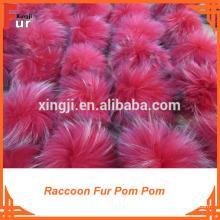 Chapéus de Cashmere Fur Pom Pom