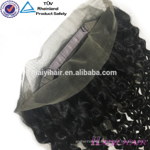 Brazilian Virgin Hair Curly 360 Frontal Piece