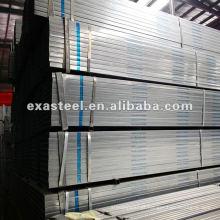 Vedação galvanizada e tubulação quadrada da mobília
