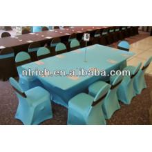 Lycra Spandex stretch Stuhl-Schärpe für Hochzeit