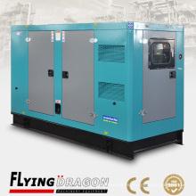 Con sistema de control remoto y ATS 125KVA 80KW generador eléctrico alimentado por motor cummins