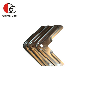 Esquina de abrazadera de brida de conducto TDF de acero galvanizado HVAC
