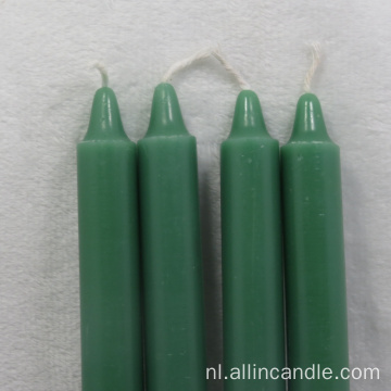 Best Emergency Candles 4 Inch Green Taper Candles