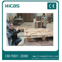 Hicas Free of Fumigation Compress Wooden Pallet Production Line