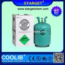 Beste Qualität niedrige ODP neue Art Conditioner Gas r507